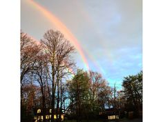 Quadruple Rainbow Spotted in Glen Cove Thank you, Mother Nature.