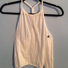 new tank top sorry for the wrinkles! never worn, no stains! Hollister Tops Tank Tops