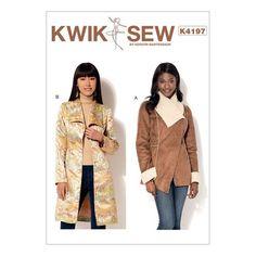 Kwik Sew Pattern K4197 (XS-S-M-L-XL)