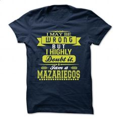 MAZARIEGOS - #student gift #shirts