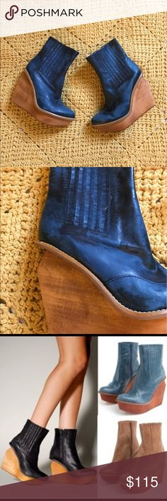 Selling this Jeffery Campbell BRISBANE wedge booties on Poshmark! My username is: alesiavsworld. #shopmycloset #poshmark #fashion #shopping #style #forsale #Jeffrey Campbell #Shoes