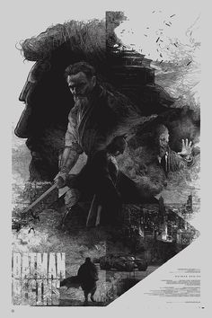 """Behance project: """"The Dark Knight Trilogy"""" - Batman Begins - Krzysztof Domaradzki"""