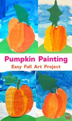 Painting Pumpkins with Children - Emma Owl