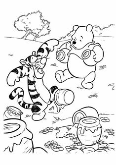 winnie the pooh rabbit coloring pages. We have a Winnie The Pooh Coloring Page collection that you can store for your children's learning material. Bear Coloring Pages, Free Coloring Sheets, Printable Adult Coloring Pages, Cartoon Coloring Pages, Disney Coloring Pages, Coloring Pages To Print, Coloring Pages For Kids, Coloring Books, Kids Coloring