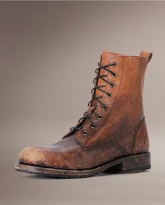 Frye Men's Rogan Tall Lace Up Boot - Cognac