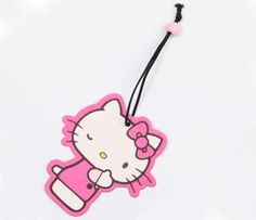 Hello Kitty Paper Air Freshener: Wink and like OMG! get some yourself some pawtastic adorable cat apparel!
