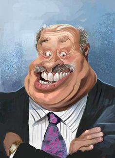 Caricature of Dr. Phil, via jaanderson2112
