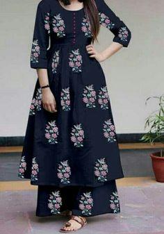 Com Pakistani Dresses Casual, Indian Fashion Dresses, Dress Indian Style, Pakistani Dress Design, Indian Designer Outfits, Sleeves Designs For Dresses, Dress Neck Designs, Stylish Dress Designs, Simple Kurta Designs