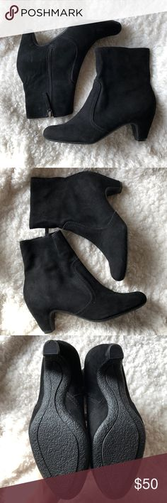 Sam Edelman Boutique booties. Size 7 Adorable booties by SE Sam Edelman boutique/Sam Edelman design group. Soft leather upper. 1 inch heel. The boot goes about 5.5 inches up the ankle. In excellent used condition with only minor signs of wear! Ask questions if you have any! Sam Edelman Shoes Ankle Boots & Booties