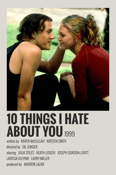 poster made by me! bedroom posters Alternative Minimalist Movie Polaroid Poster- 10 Things I Hate About You 1999 Horror Movie Posters, Old Film Posters, Posters Vintage, Iconic Movie Posters, Minimal Movie Posters, Minimal Poster, Iconic Movies, Horror Films, Vintage Movies