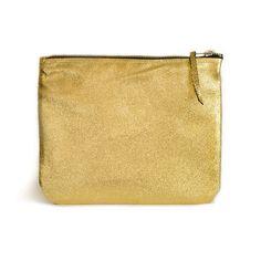Gold clutch von Patkas Berlin auf DaWanda.com