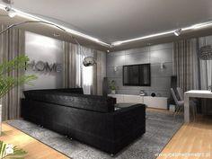 Salon w szarościach - zdjęcie od Le Pukka concept store