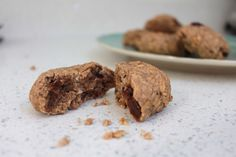 Coffee, Vanilla and Chopped Date Cookie Sugar Free Recipes, Sweet Recipes, Cookie Recipes, Snack Recipes, Snacks, Date Cookies, Vegan Gluten Free Desserts, Coffee Cookies, Cream Tea