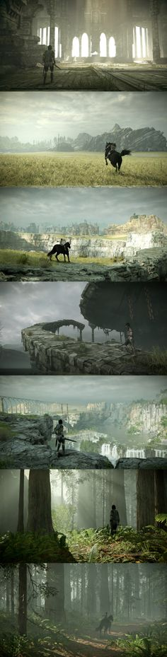 The Stunning World of Shadow of the Colossus