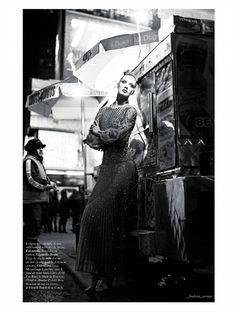 Karmen Pedaru by Mario Sorrenti for Vogue Paris March 2012