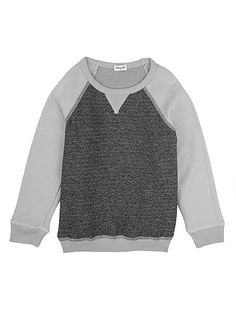 Splendid Littles Marled French Terry Sweatshirt #playeveryday
