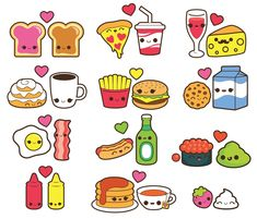 Valentine clipart, kawaii food clipart, kawaii valentines day clipart, kawaii coffee clipart, kawaii It is possible to needless to say start out decorating Valentines Day Drawing, Valentines Day Clipart, Valentines Food, Cute Food Drawings, Cute Kawaii Drawings, Food Drawing Easy, Stickers Kawaii, Cute Stickers, Kawaii Doodles