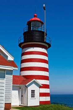 West Quoddy Head Lighthouse Eastern most point in the USA