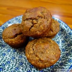 Molasses Date Oatmeal Muffins by FarmFreshFeasts