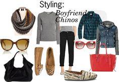 291 Fall Uniform: Boyfriend Chinos.