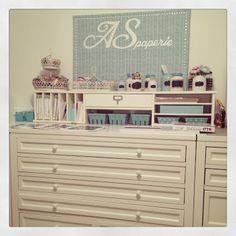 Fabric Corkboard / Martha Stewart Craft Furniture / Craft Room / Pottery Barn / Ikea