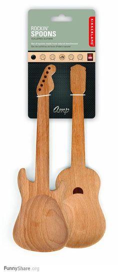 Wooden spoons!
