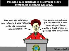 Dilma esclarece de forma clara e objetiva a compra de uma refinaria nos EUA.