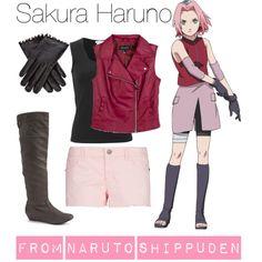 """[Naruto Shippuden] Sakura Haruno"" by kristent981 on Polyvore"