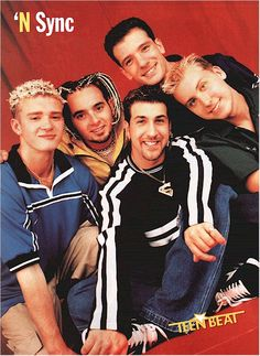 Nsync. I was convinced because Justin was the same age as my sister, only 8 years older than me that we were soul mates destined to be married aha.