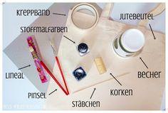 Easy-Peasy DIY: Jutebeutel verschönern #2