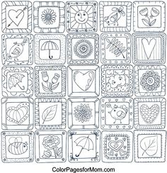 Hearts Coloring Page 31