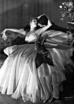 Marcel Rochas - Vogue, 1950