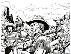 Tex Willer and his friends