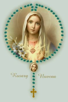 The 54 Day Rosary Novena. So powerful and so beautiful! My cousin Carol and I are keeping up with ongoing rosary novenas - as soon as we finish one, we start another. We have seen prayers answered mightily. Our heavenly mother is a tireless intercessor. Rosary Novena, Novena Prayers, Catholic Prayers, Catholic Art, Religious Art, Catholic Beliefs, Christianity, Praying The Rosary, Holy Rosary
