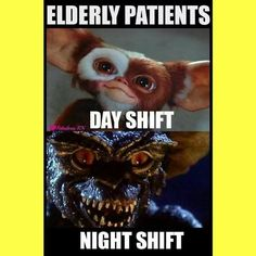 Nurses will understand.