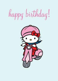HK on scooter birthday pic image.