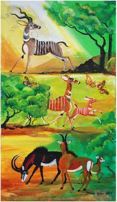 Dahlov Ipcar Paintings For Sale