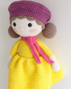LEA Crochet Doll - Amigurumi doll - Stuffed doll - Handmade doll - Interior doll - Crochet toy - Handmade toy - Baby Gift
