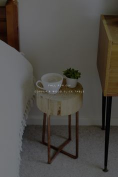 This side table is the perfect example of procrastination. I have been 'planning' this tutorial sincewe purchased our Christmas tree and it came with this hunk of wood on the bottom. I (naturally) squirrelled it away to make into the perfect DIY at a later date… Six months and 500 ideas later I decided I …
