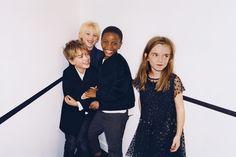 PARTY | KIDS-KIDS-EDITORIALS | ZARA United States Party Fashion, Boy Fashion, Glitter Party, Time Kids, Kids Events, Retro Chic, Zara United States, Dope Outfits, Kids Christmas