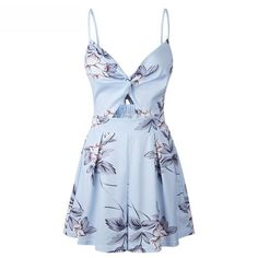 be9738b6d842 Lossky Women Summer Jumpsuit Shorts Sexy Strapless V-neck Boho Print Rompers  Womens Jumpsuit 2018 Backless Beach Woman Jumpsuit