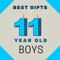 Best Gifts for 11 Year Old Boys - find out what to buy an 11 year old boy for his Birthday or Christmas. AWESOME IDEAS!