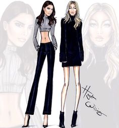 Kendall Jenner and Gigi Hadid - Hayden Williams
