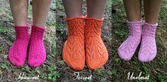 Ravelry: Suviyön sukat pattern by Sari Suvanto Knitting Videos, Knitting Charts, Knitting Socks, Knit Socks, Ravelry, Knit Crochet, Slippers, Sari, Pattern