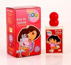 Dora the Explorer perfume is a floral-fruity fragrance for girls