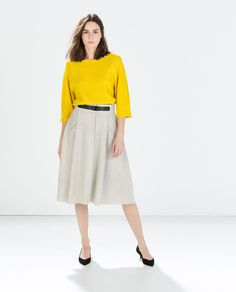 ZARA - WOMAN - COMBINED TOP
