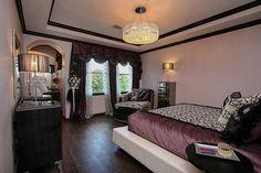 glam girl's room chandelier