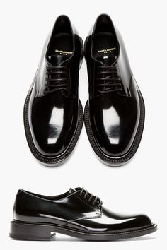 Shiny Shoes, Mr. Fancy: Saint Laurent Patent Leather
