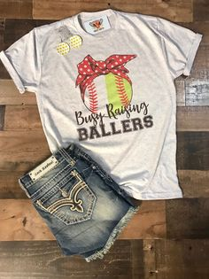 Excited to share this item from my shop: Baseball softball mom busy raisng ballers baseball mom softball mom baseball softball gift fan gear half baseball half softball Softball Mom Shirts, Softball Gifts, Girls Softball, Sports Shirts, Softball Cheers, Softball Bows, Softball Pitching, Fastpitch Softball, Baseball Mom Shirts Ideas