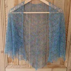 laceweight crochet shawl pattern